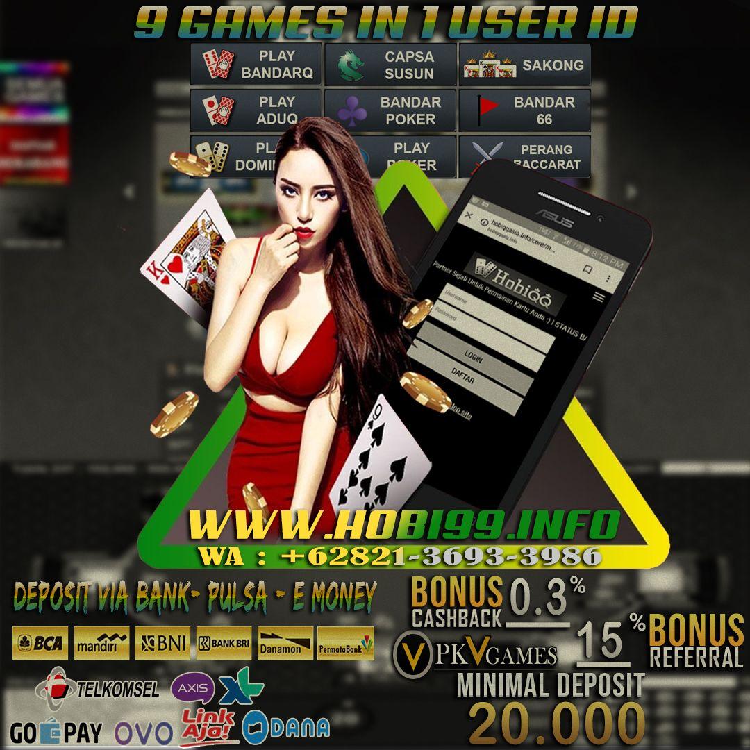 Hobiqq In 2020 Poker Bandar Agen