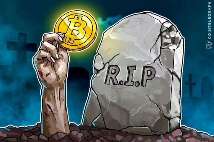 """Attēlu rezultāti vaicājumam """"bitcoin death"""""""