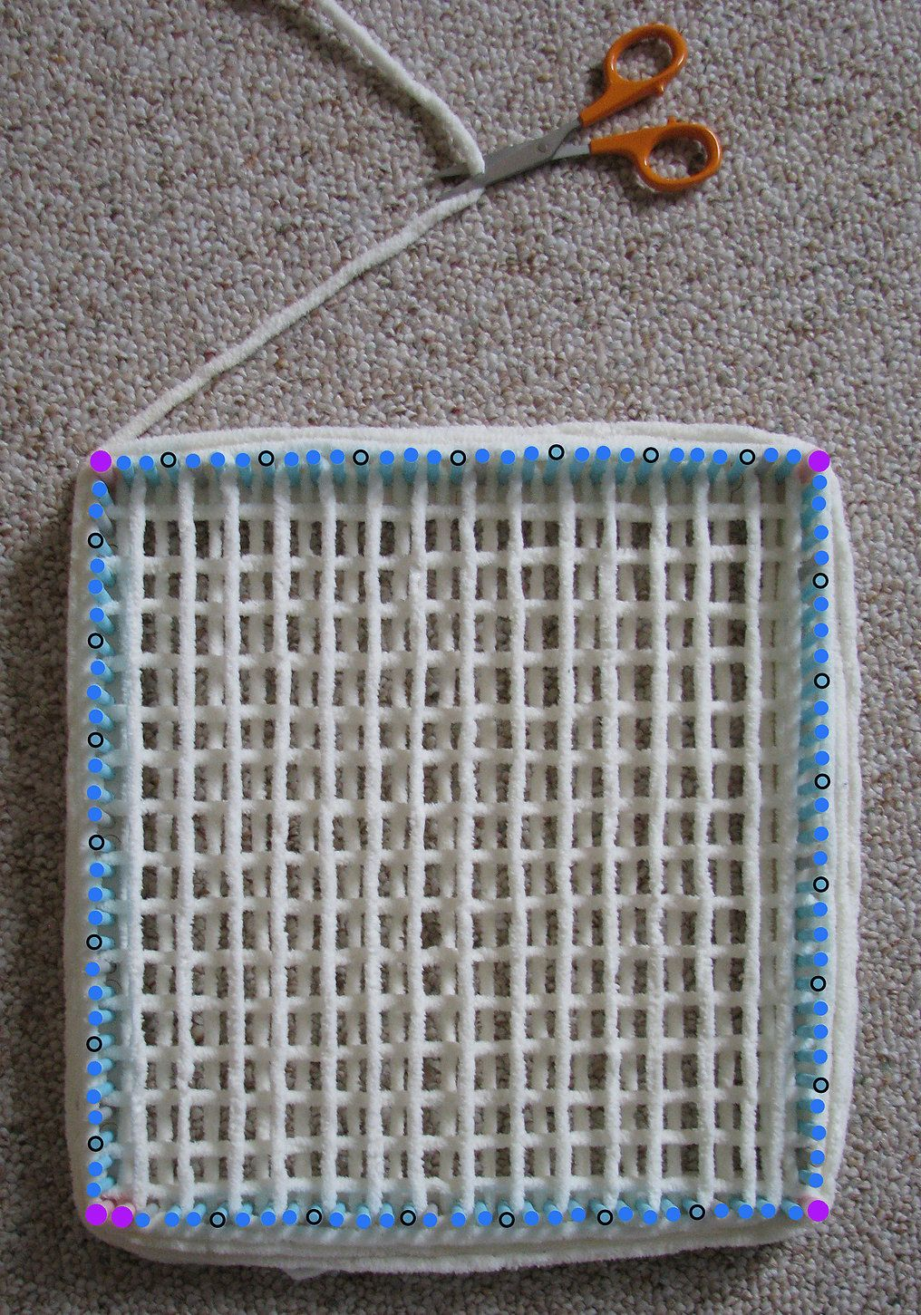 Tutorial part 2: A new way to use the Martha Stewart knit loom ...