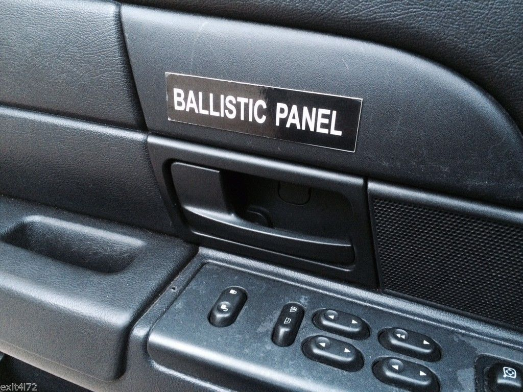 Police Ford Interceptor P71 Ballistic Door Panel Emblem Crown Victoria Cvpi Ebay Interceptor Ford Victoria Police