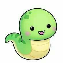 It S A Snekk Cute Cartoon Drawings Kawaii Drawings Cute Animal Drawings