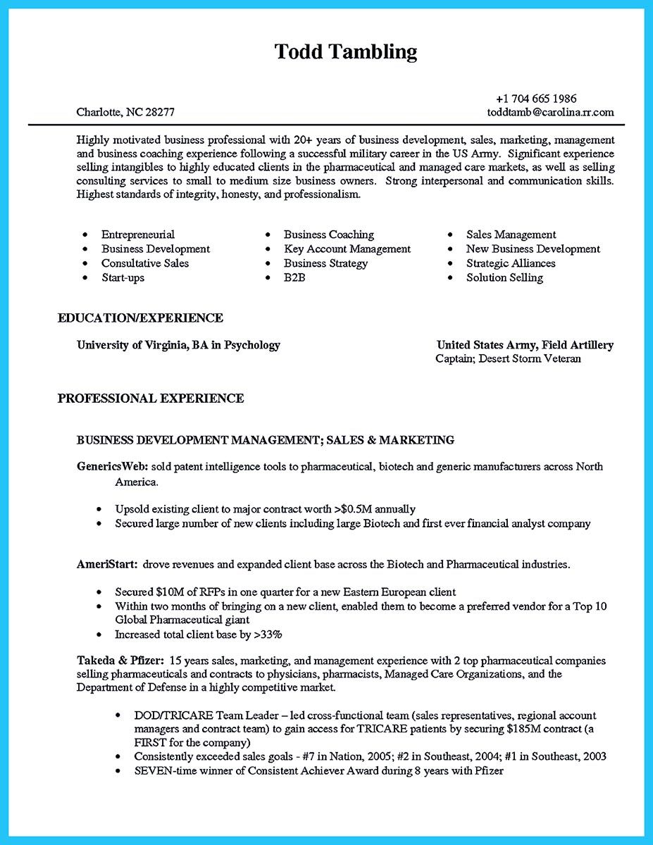 When you build your business owner resume, you should include the ...