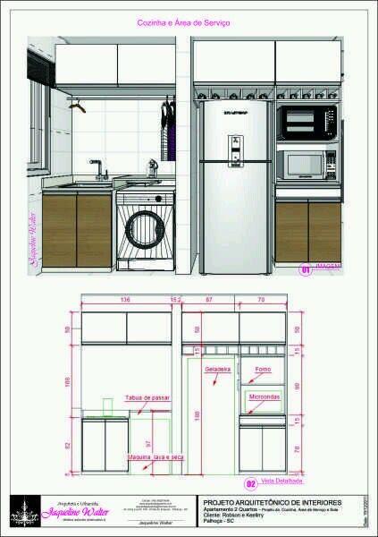 Dimens Es Arquitetura E Urbanismo Pinterest Cozinha