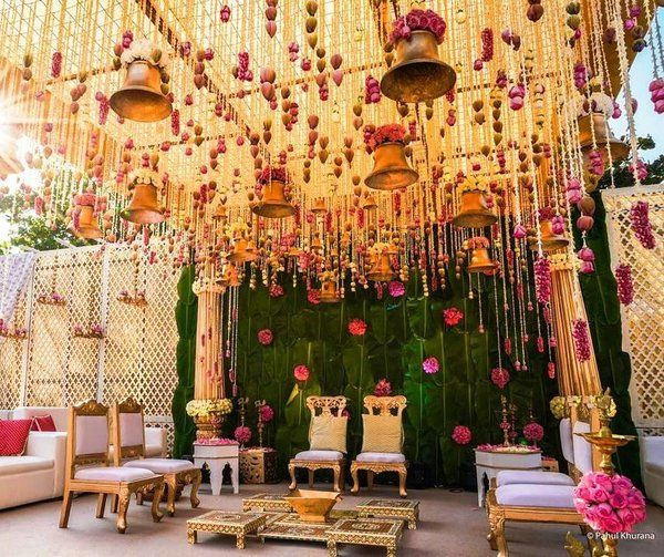 19 Ways to Add the Auspiciousness of Bells in Wedding Decor | ShaadiSaga