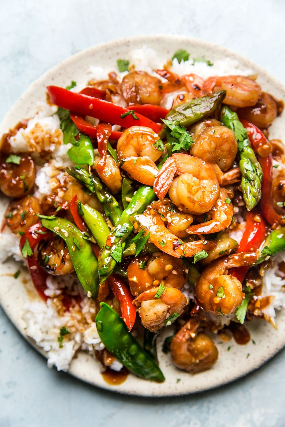 Garlic Shrimp Stir Fry | The Modern Proper