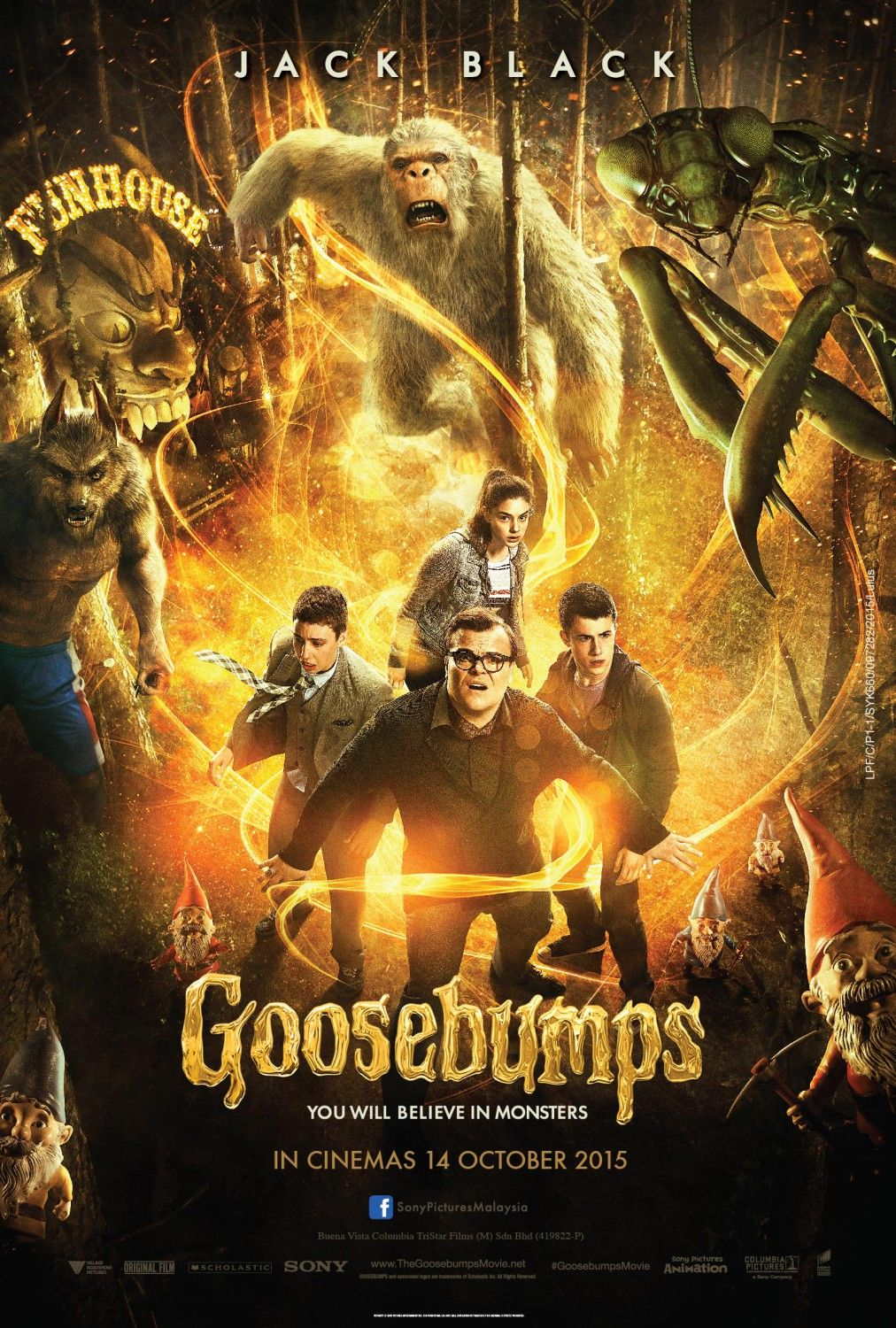 Return to the main poster page for Goosebumps