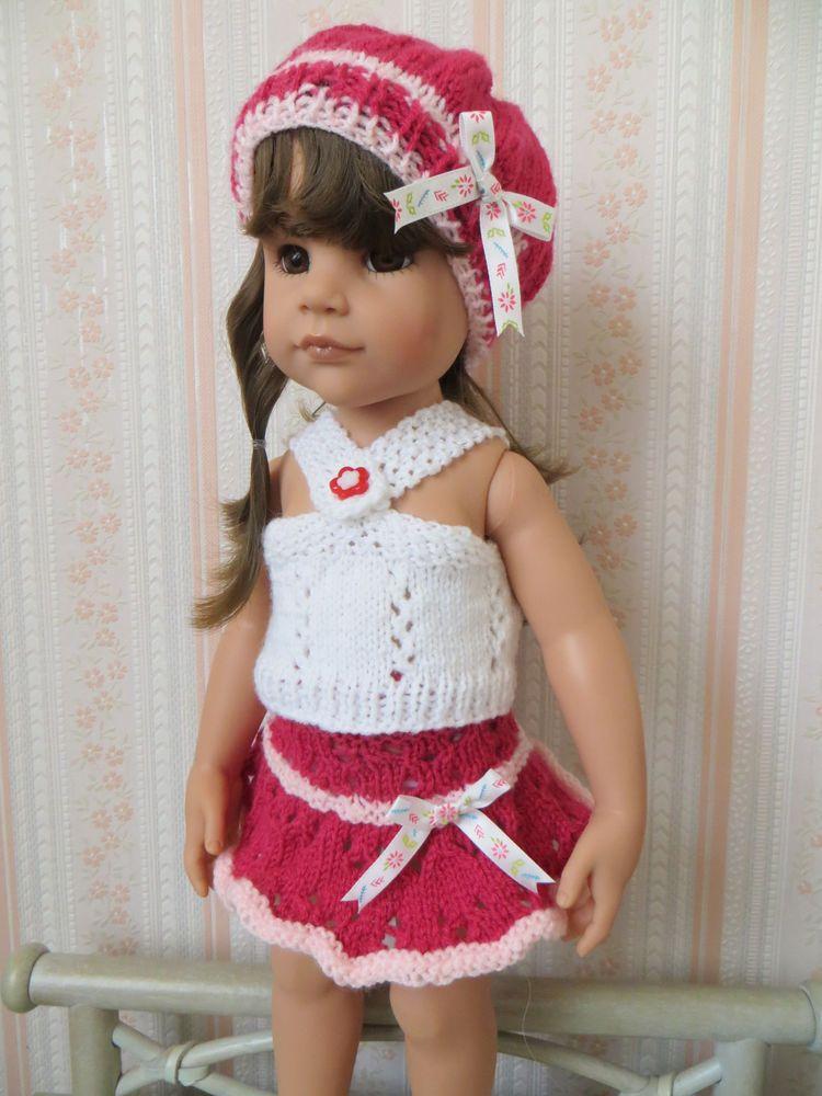 Détails sur vêtement poupée Gotz Hannah 50 cm Puppen