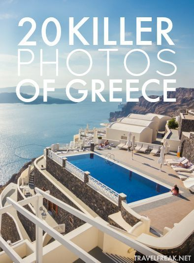 Need a little inspiration to book that ticket to Greece? These 20 incredible photos might be just what you're looking for. | travelFREAK