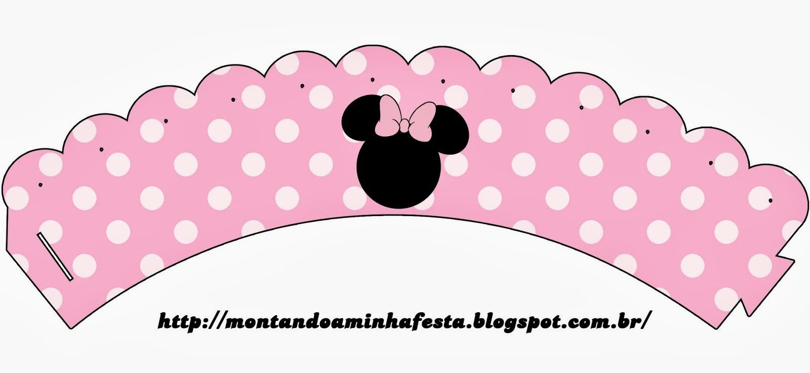 Minnie Rosa: Invitaciones, Imprimibles, Imágenes y Fondos para ...