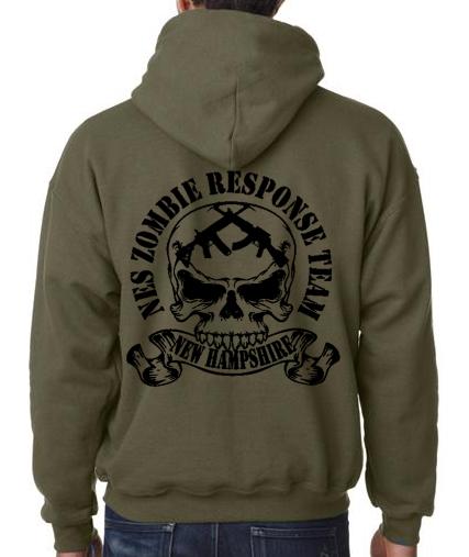 Zombie Response Team NH Hoodie — Blind Eye Apparel
