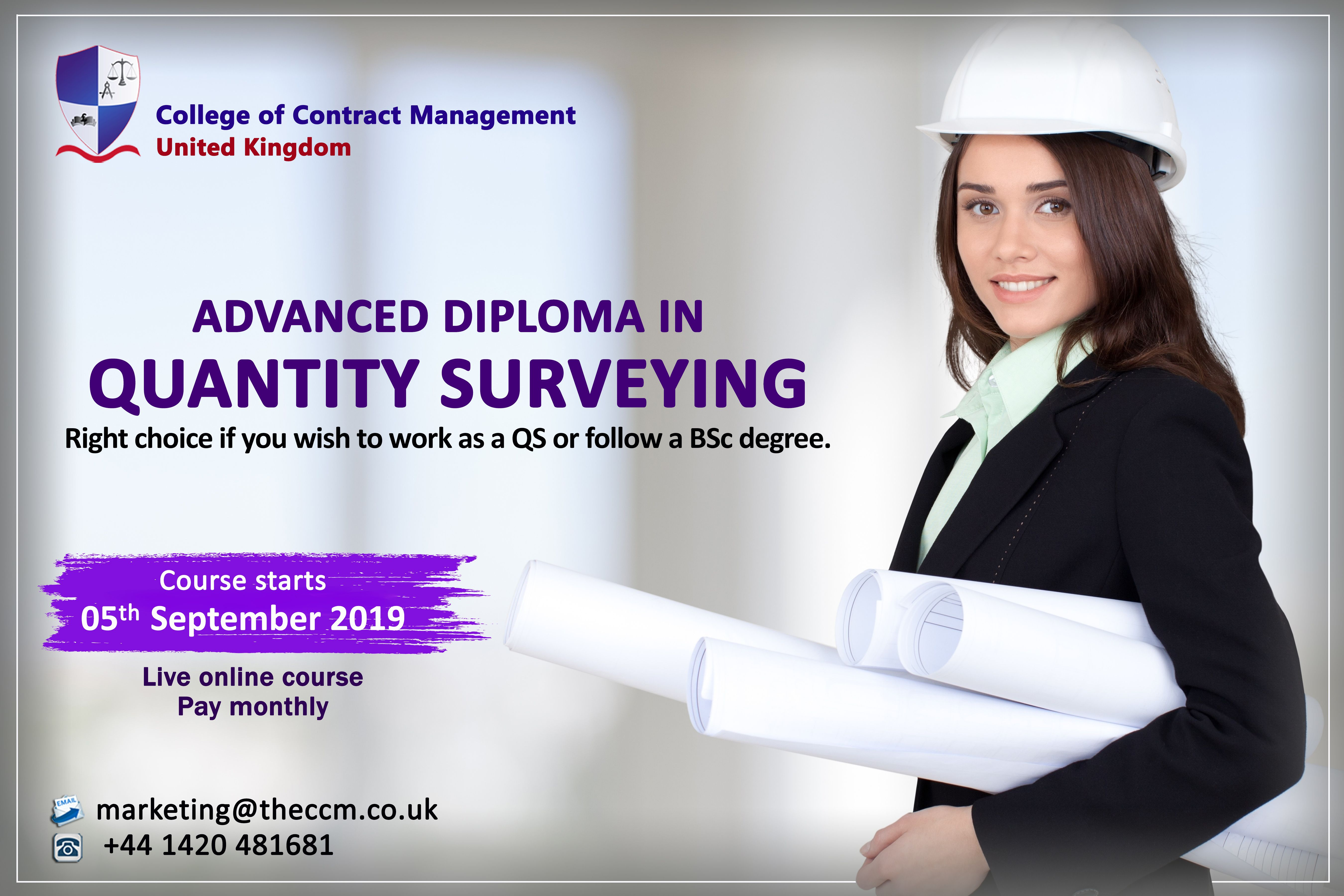 The Advanced Diploma In Quantity Surveying Will Give You An