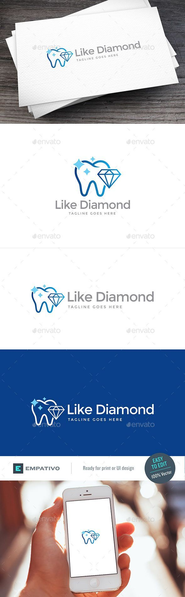 Modern, versatile and stylish logo template. Ideal for a