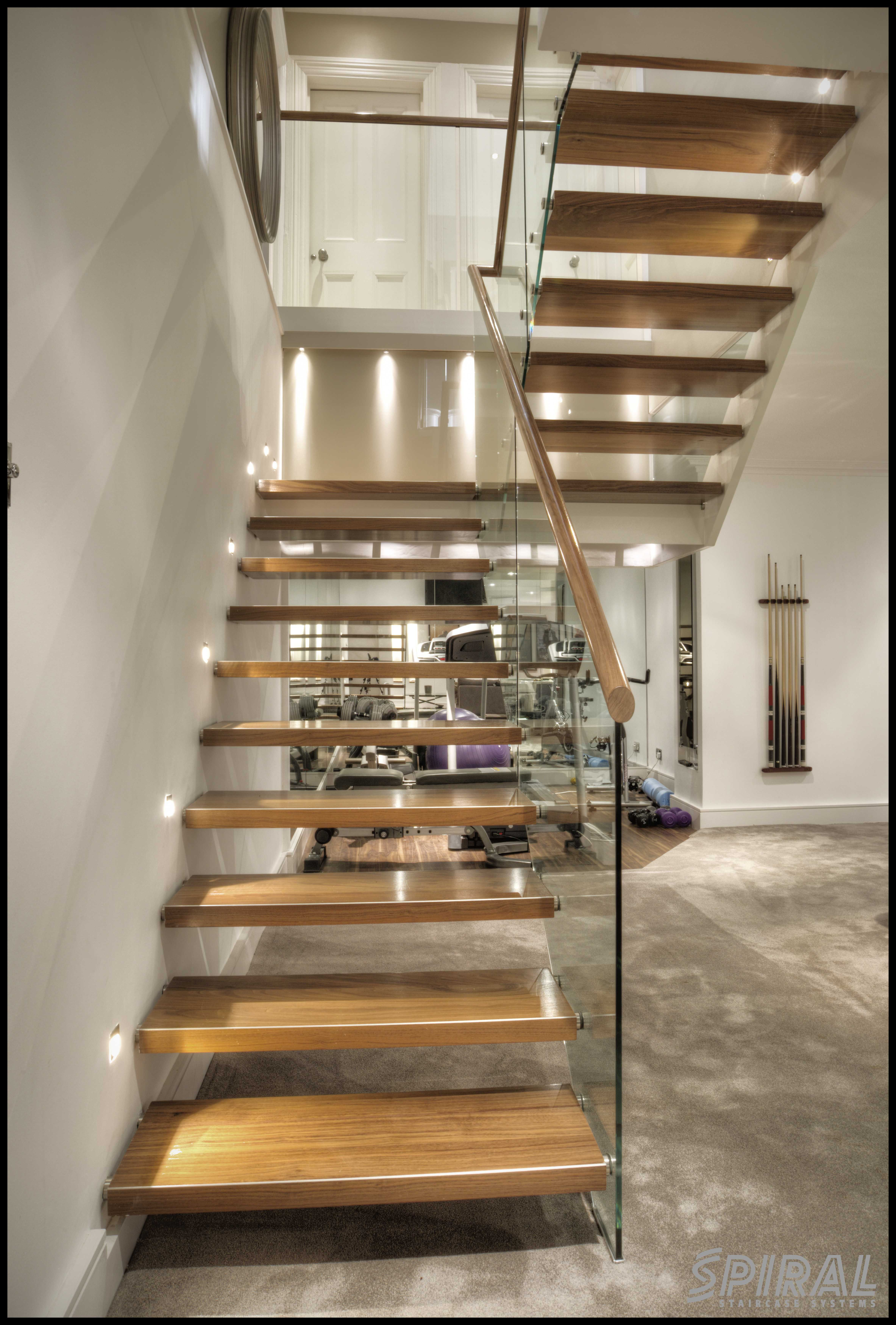 Best Straight Domestic Staircase Twin Pin Design Straight 400 x 300