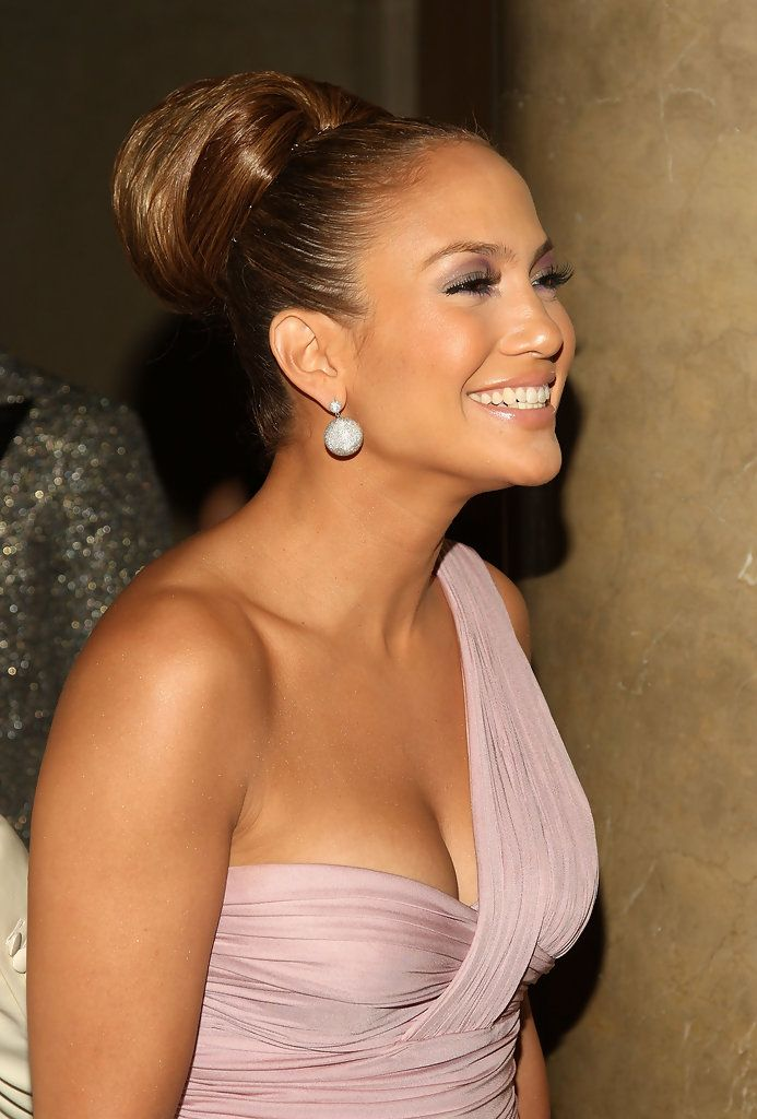 Jennifer Lopez Chignon Jennifer Lopez Hair Jennifer Lopez Jenifer Lopez