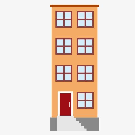 Edificio De Dibujos Animados | Dibujos de edificios ...