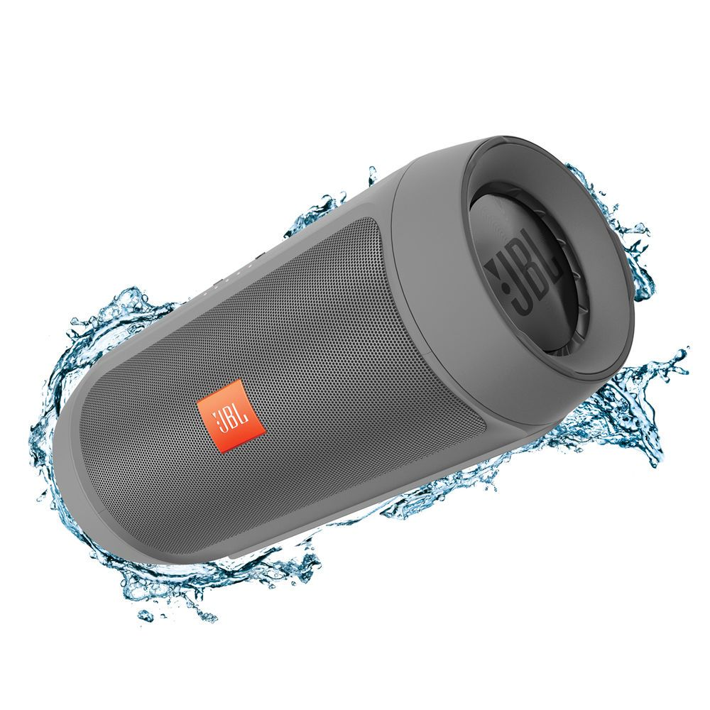 JBL Charge 2+ Wireless Speaker System Grey (avec images