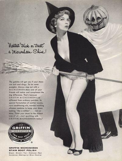 Bewitching Vintage Halloween Ads