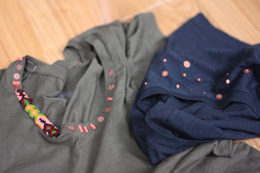 Easy Embellished t-shirts