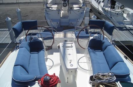 Blue Sailboat Cushions Cockpit Google Search Boat