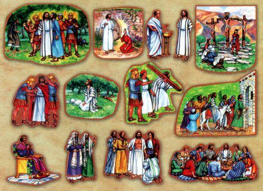 Crucifixion Felt Story