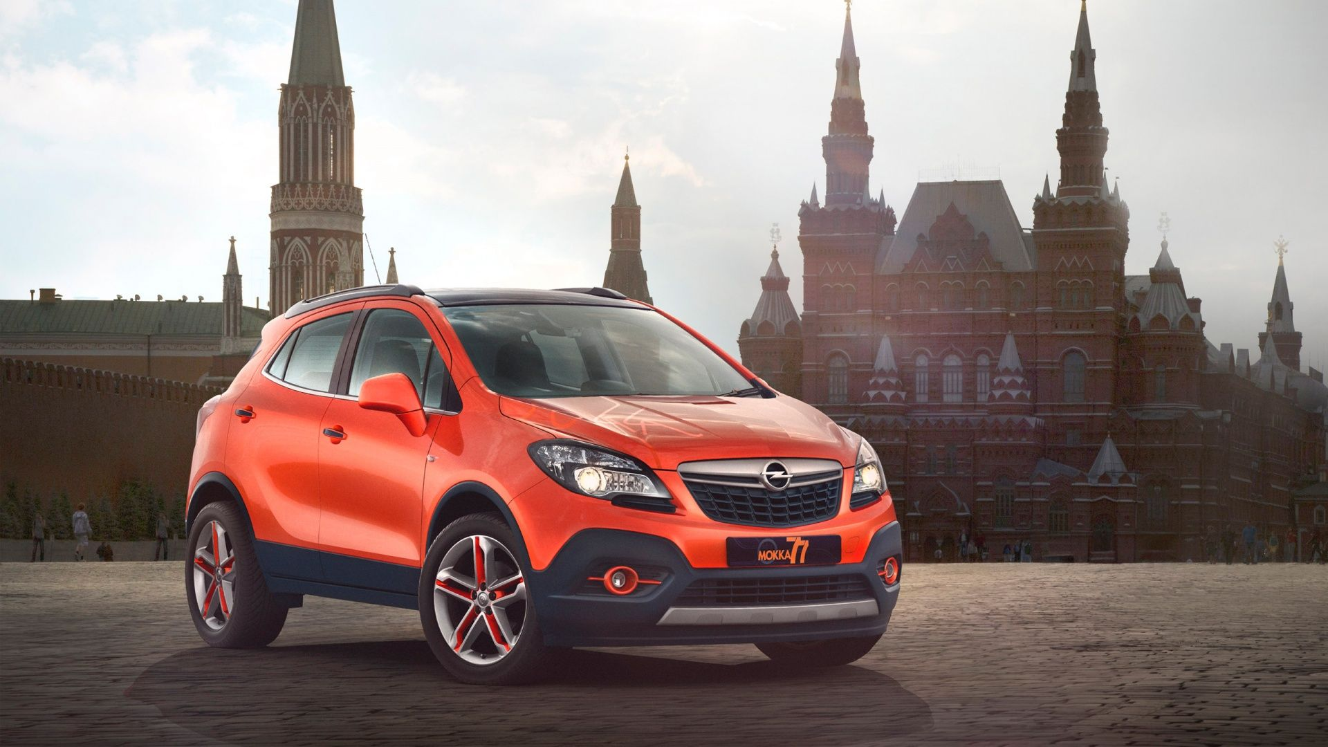 Opel presented at the auto show in moscow the mokka moscow edition and although it sounds and looks like a special version of the popular small suv