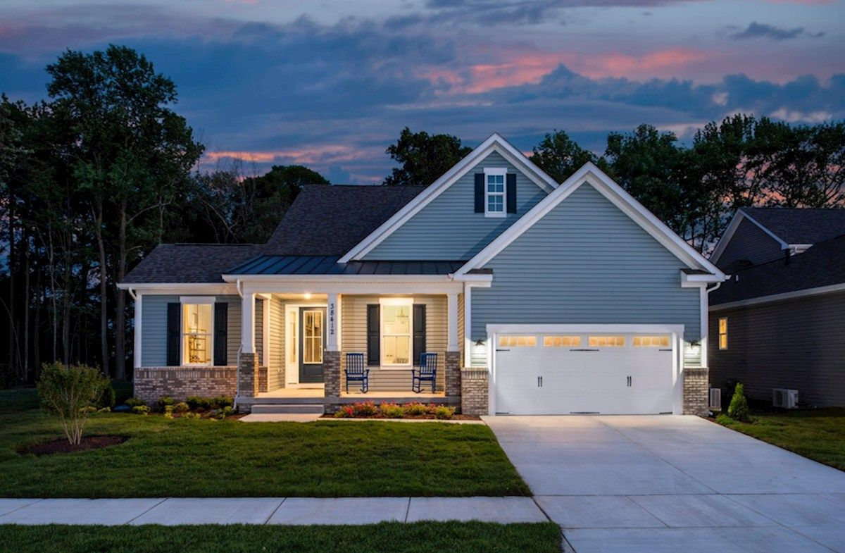 Dirickson Home Plan in Bishop s Landing Millville DE
