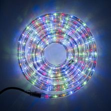Multi Coloured Led 8 Metre Rope Light Indoor Outdoor Use Ip44 Led Rope Lights Rope Light Christmas Rope Lights