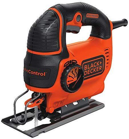 Black Decker Bdejs600c Smart Select Jig Saw 5 0 Amp Jigsaw Power Tool Woodworking Jigsaw Best Jigsaw