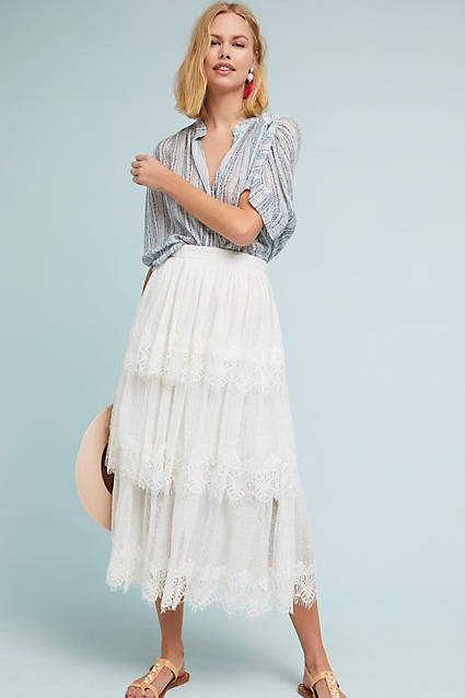 2a02e1eba Dartmoor Tiered Maxi Skirt | Products | Skirts, Maxi skirt style ...