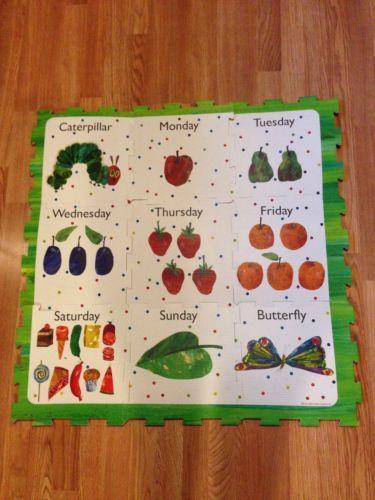 Eric Carle The Very Hungry Caterpillar Floor Mat | eBay