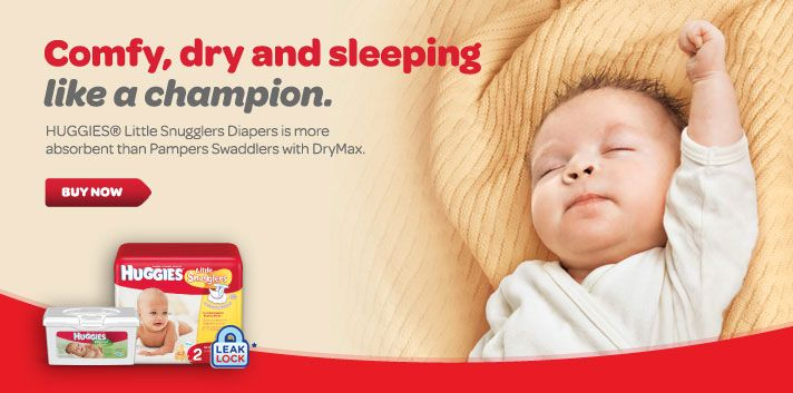We love Huggies in our house!!