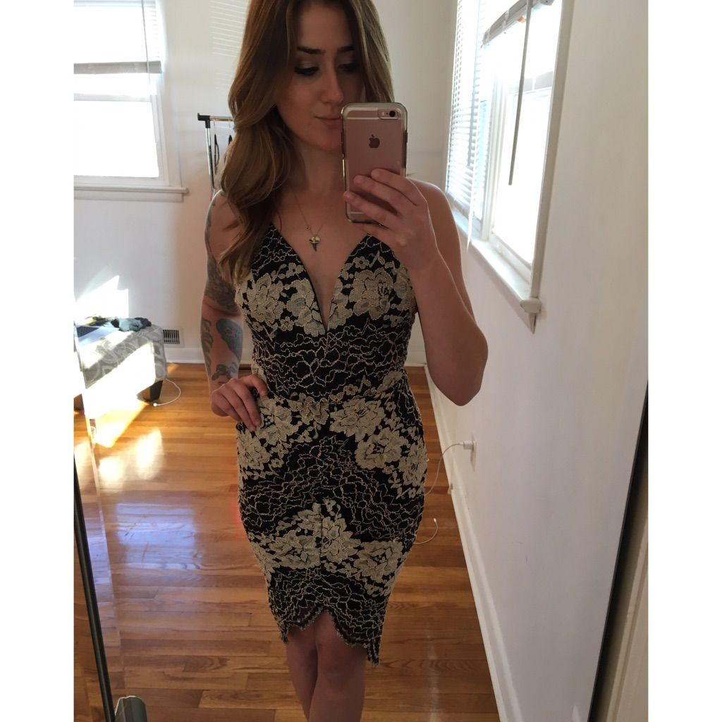 Cameo black u gold lace dress gold lace dresses black gold and