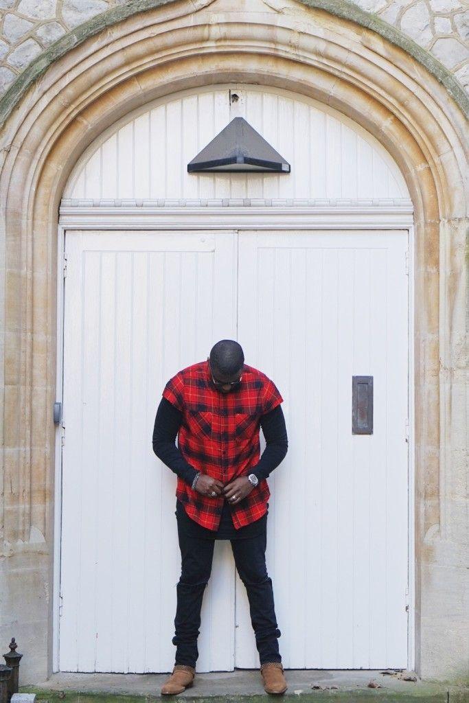 Long Sleeve Shirt : Fear of God | Button up : Fear of God | Denim : Saint Laurent | Boot : Saint Laurent