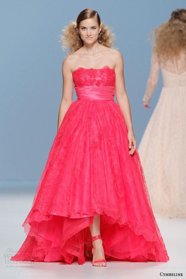Cymbeline Bridal 2015 — Colored Wedding Dresses   I DO!   Wedding