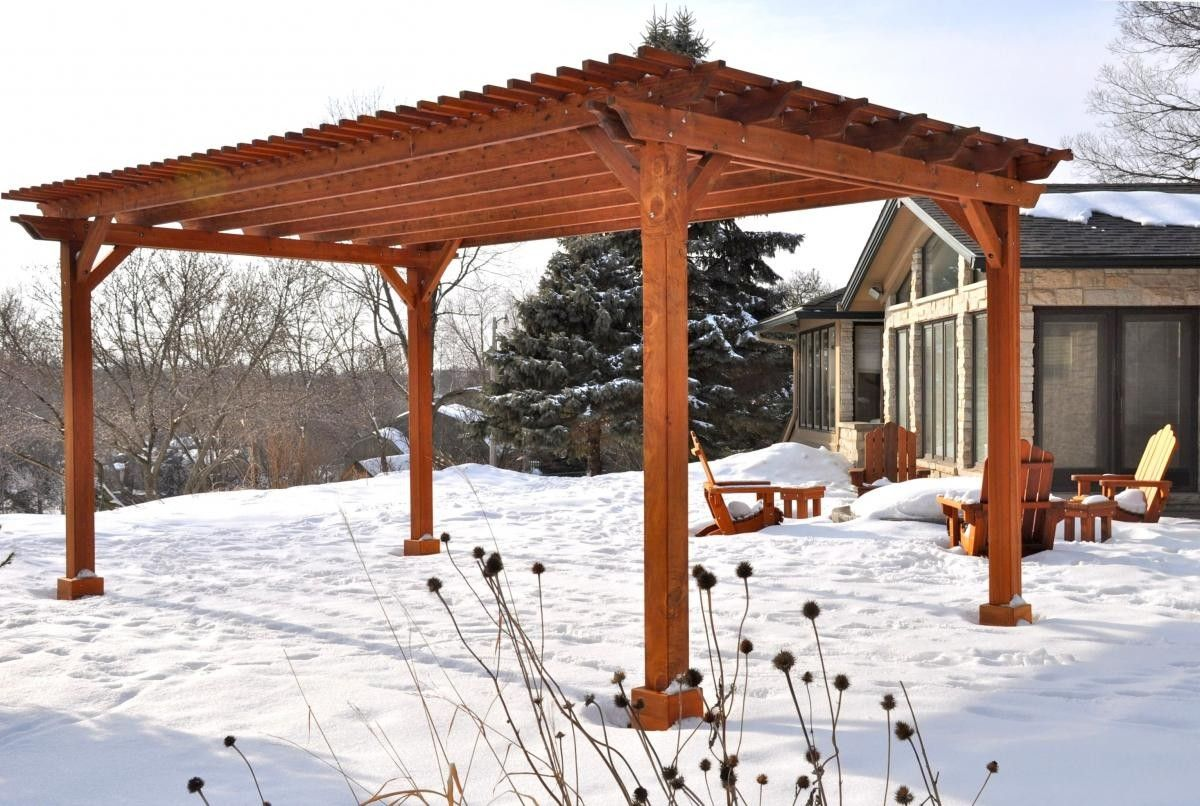 Pergola Designs UpfrontHow to Build a Wood Pergola in a Few
