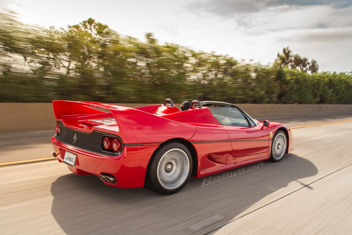 Ferrari F50 Caught On Camera On The Way To Bella Italia Car Show In San  Diego California. An Action Photo From The RallyWays Automotive Photography  ...
