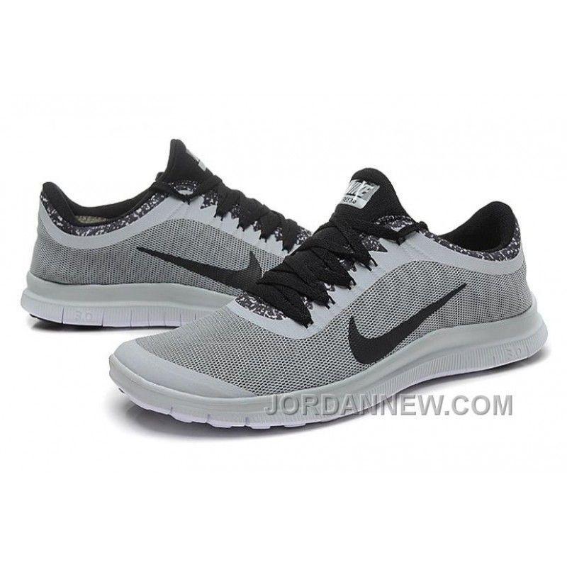 promo code 8e1a7 bf2dc ... closeout mens nike run 3.0 v6 grey black running shoes free shipping  8db13 9d67a