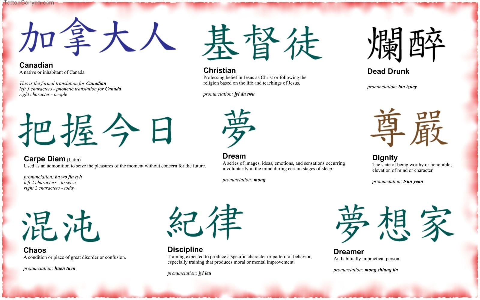 7261 Kanji Symbols 0509 Japanese Home Tattoo Designs Tattoo Design