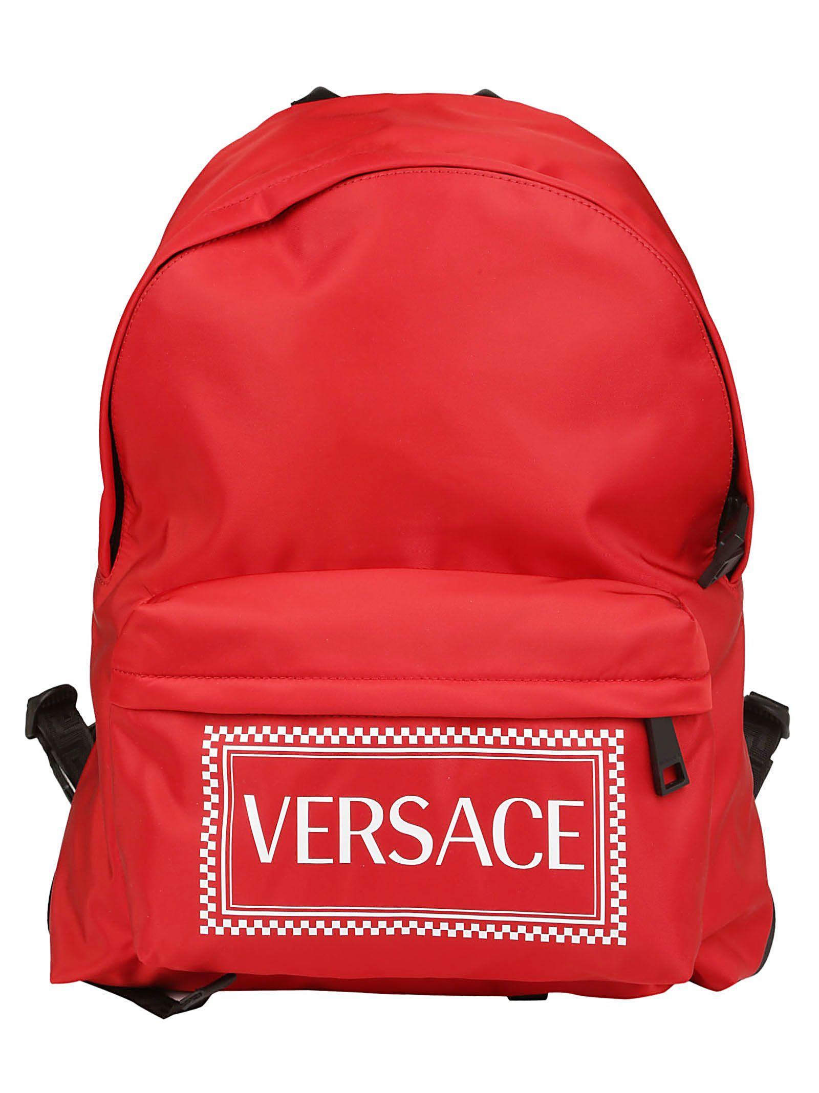 ce70da7a4b VERSACE BACKPACK.  versace  bags  leather  nylon  backpacks ...
