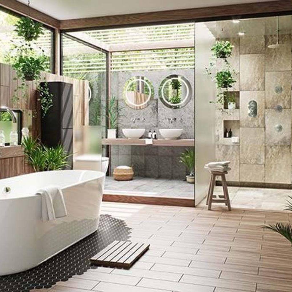 Modern Zen Bathroom Design Modern Zen Bathroom In 2019 Spa Bathroom Design Zen Modern Zen Ba Zen Bathroom Design Spa Bathroom Design Popular Bathroom Designs