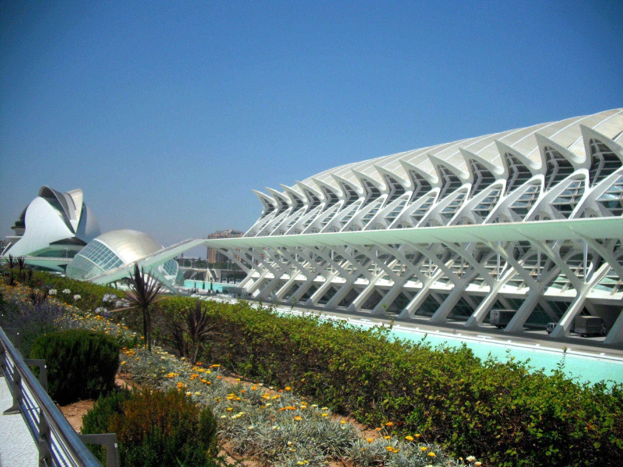 Santiago Calatrava Prince Felipe Science Museum