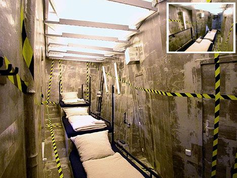 Weirdest Beds the prison type #bed - seen on http://www.wedo-beds.co.uk/blog/top