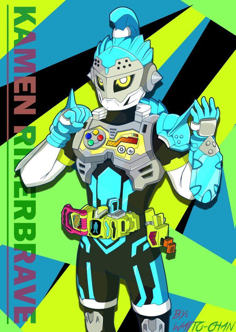 Kamen Rider Brave By Waito Chan Deviantart Com On Deviantart Kamen Rider Kamen Rider Brave Rider