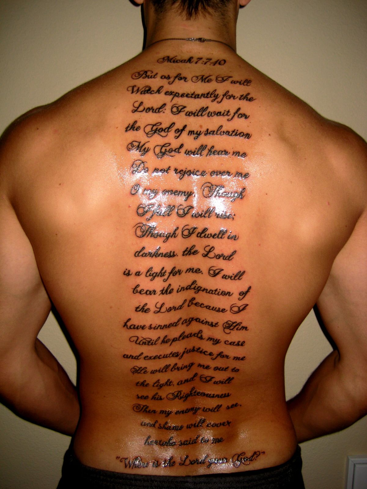 Funny Pictures Gallery Bible Quotes Tattoos Bible Quote Tattoos