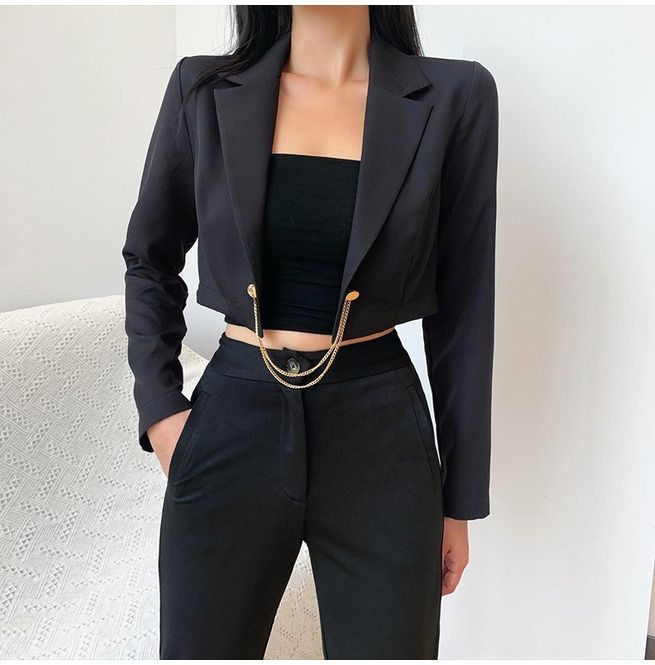 Women's Modern Style Fitted Short Jackets