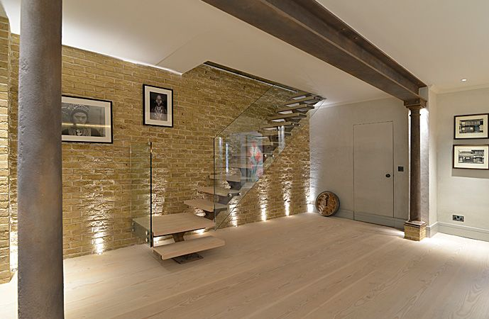 Best Straight Staircase From Ground To Basement With European 400 x 300