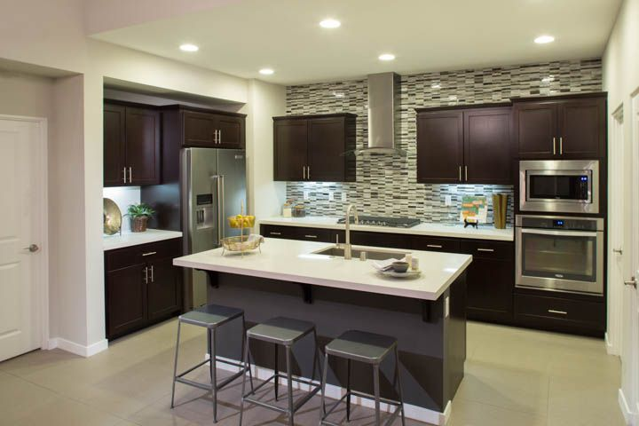 Vallera Palm Springs At Village Traditions  Residence 2 Unit 52 Glamorous Kitchen Interiors Design Inspiration Design