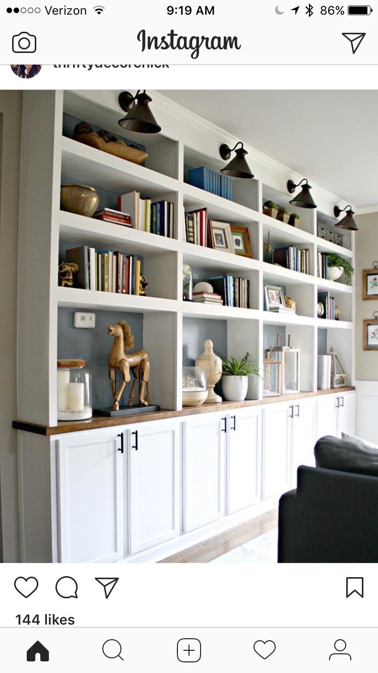 Ikea Home Office Library Ideas: Pin By Cheryl Rader On House---remodeling Ideas