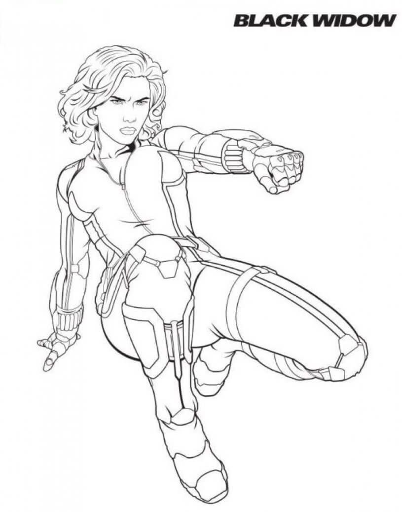 Black Widow Coloring Pages Avengers Coloring Pages Avengers Coloring Marvel Coloring