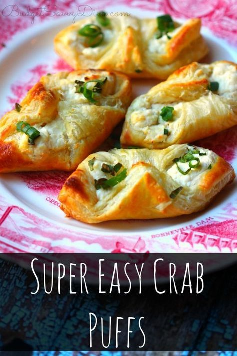 Super Easy Crab Puffs Recipe